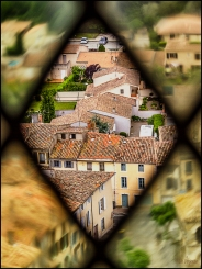 View from Carcassone Castle