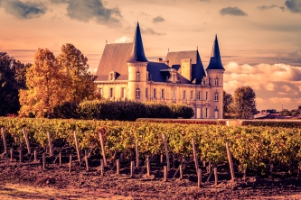 Chateau Pichon Baron - Bordeaux, France - November 2018 - Editorial